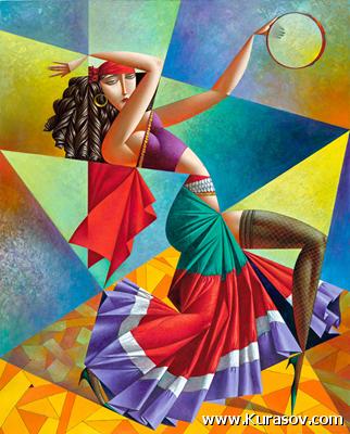 # 166 «Цыганский Танцовщица»
